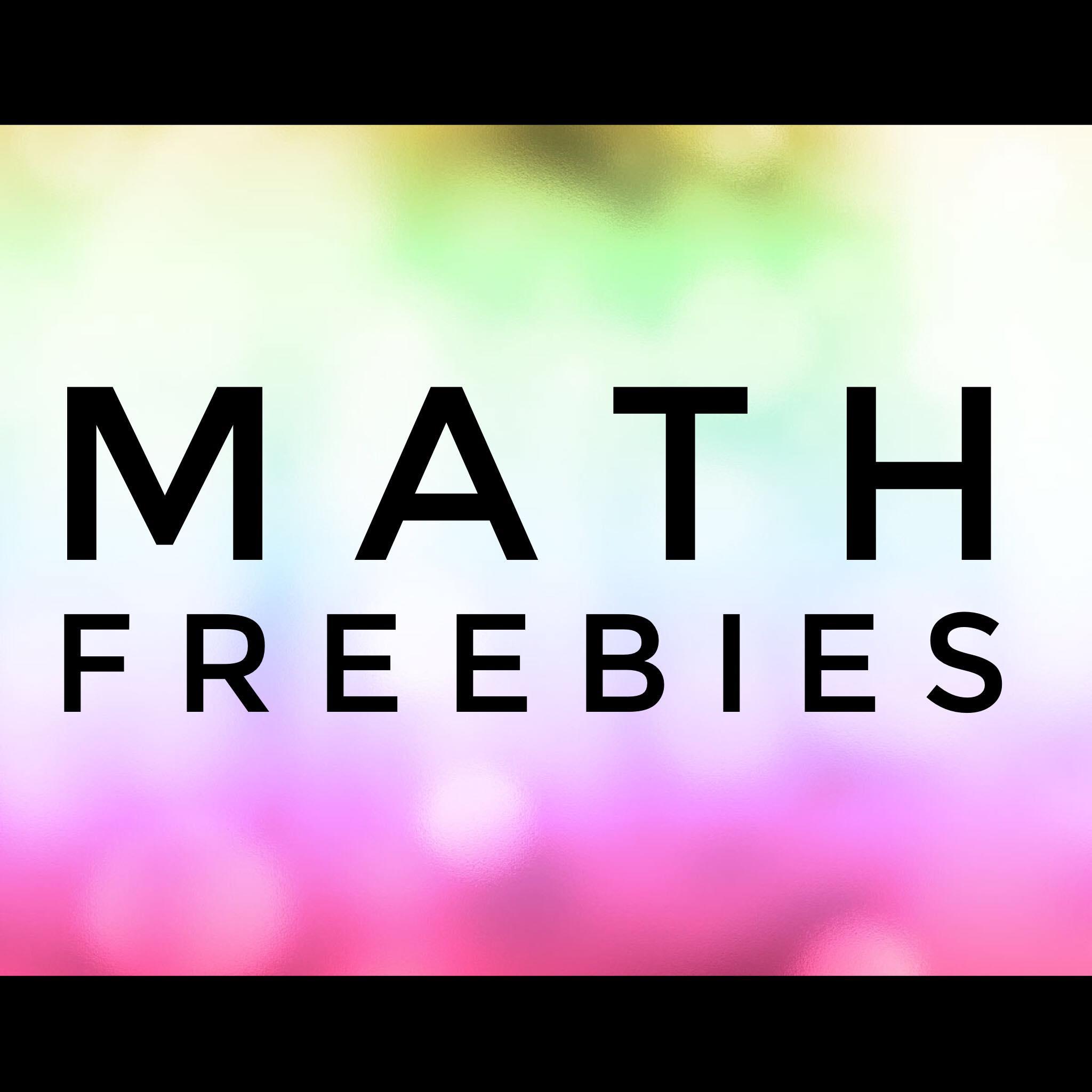 Math Freebies!