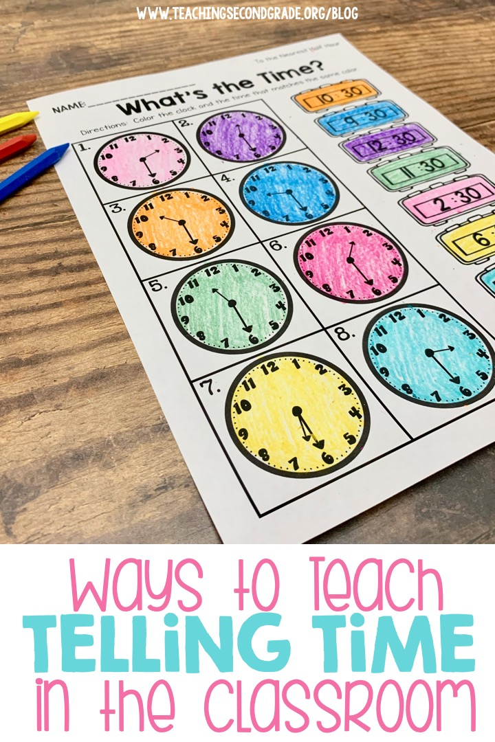 Teaching Telling Time in the Classroom
