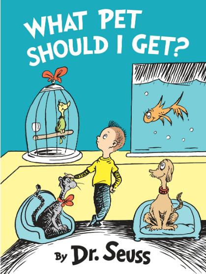june what pet should i get dr seuss