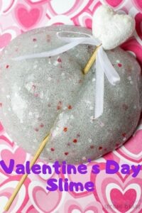 This Valentine's Day Slime is so much fun. Put the slime skills to good use with this Valentine's Day Slime recipe. Easy for classroom holiday parties. #teachingsecondgrade #slimerecipe #valentinesday #valentinesdayslime | Classroom Activity | Slime Recipe | Valentine's Day Activity | Valentine's Day Slime | Easy Activity for Kids |