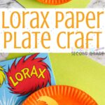 The Lorax is a fun creature and kids love putting together this Lorax Paper Plate Craft. A fun thing to do to honor Dr. Suess. #drseuss #lorax #paperplatecraft #teachingsecondgrade #kidsactivity #kidscrafts   Easy Kids Activity   Dr Seuss Craft   Paper Plate Crafts   Dr Seuss Lorax   Easy Kid Craft