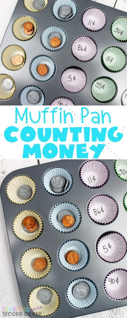 This Coin Recognition and Counting Activity is a fun way of sorting coin money. Learning to count money is boring the regular way. This is exciting for the kids. #teachingsecondgrade #math #money #coinrecognition #countingmoney #teachingmoney | Coin Recognition | Teaching Money Value | Counting Money Activities | Math Activities | First Grade Math | Second Grade Math | Third Grade Math