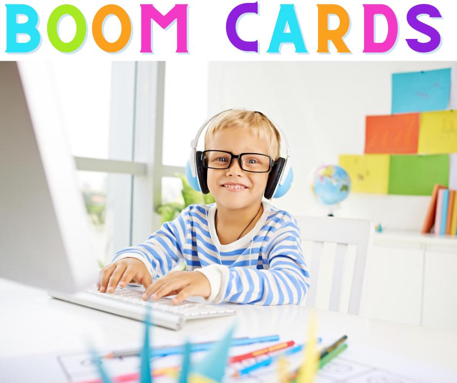 Kid playing on computer