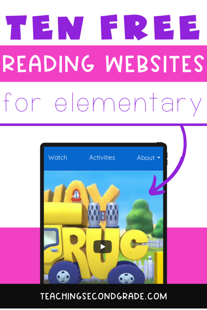 10 free reading websites showing Word World