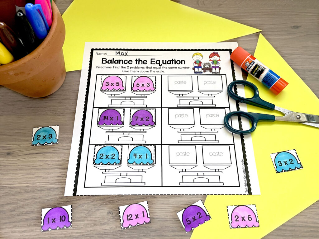 Additional Practice for 2nd Grade Math Resources