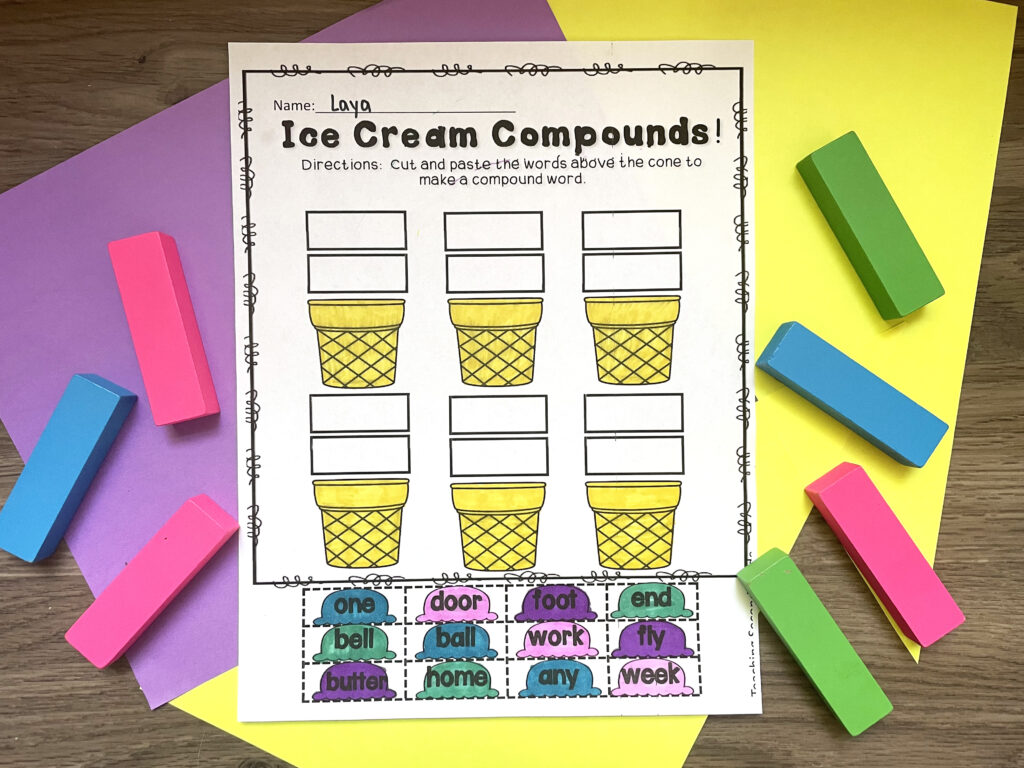compound_words_worksheets_elementary