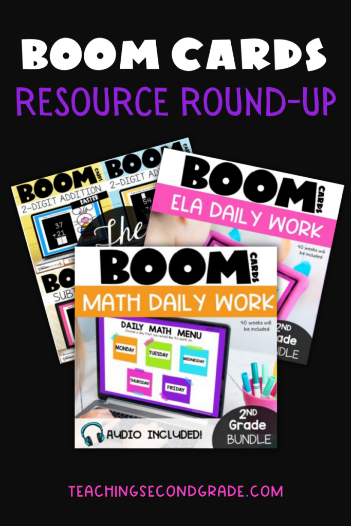 Boom Cards Resource Roundup