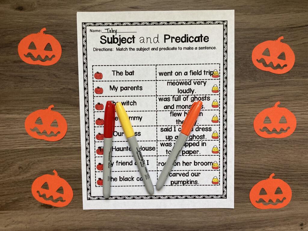 second_grade_halloween_worksheets