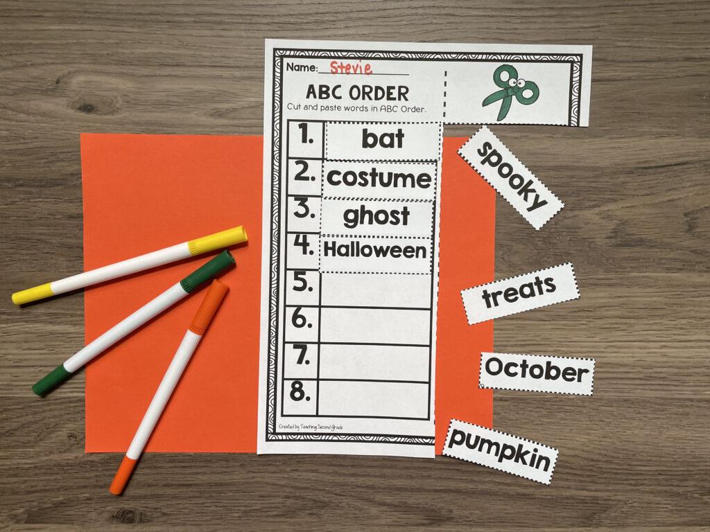teaching_second_grade_halloween_fun_packet