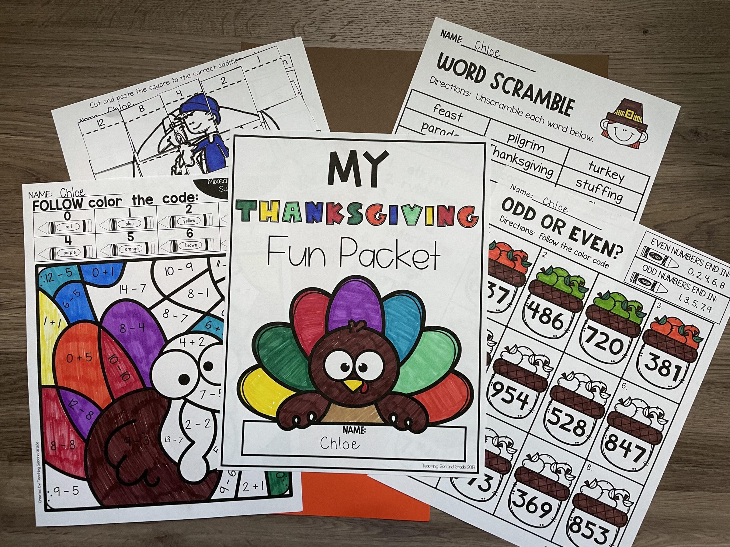 thanksgiving_fun_packet